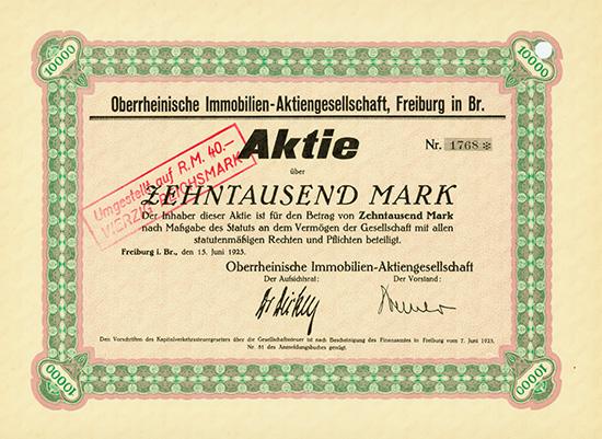 Oberrheinische Immobilien-AG