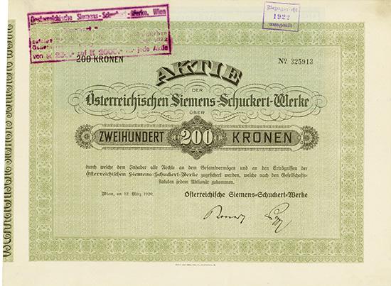 Österreichische Siemens-Schuckert-Werke