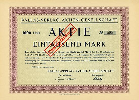 Pallas-Verlag AG