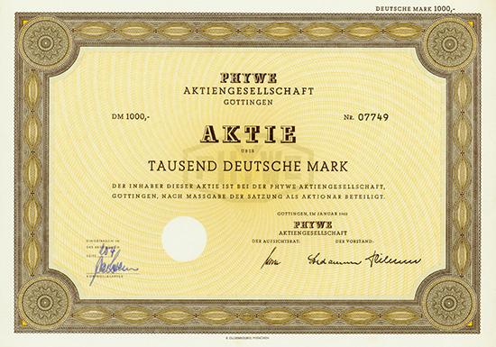 Phywe AG