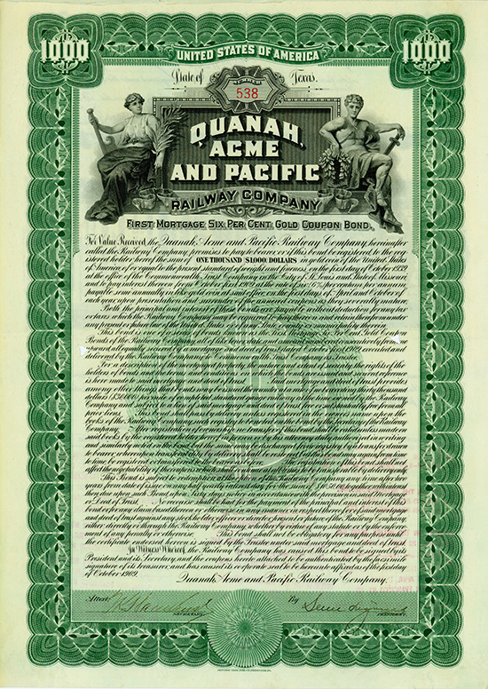 Quanah, Acme and Pacific Railway Company