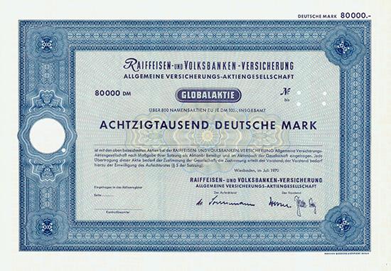 Raiffeisen- und Volksbanken-Versicherung Allgemeine Versicherungs-AG