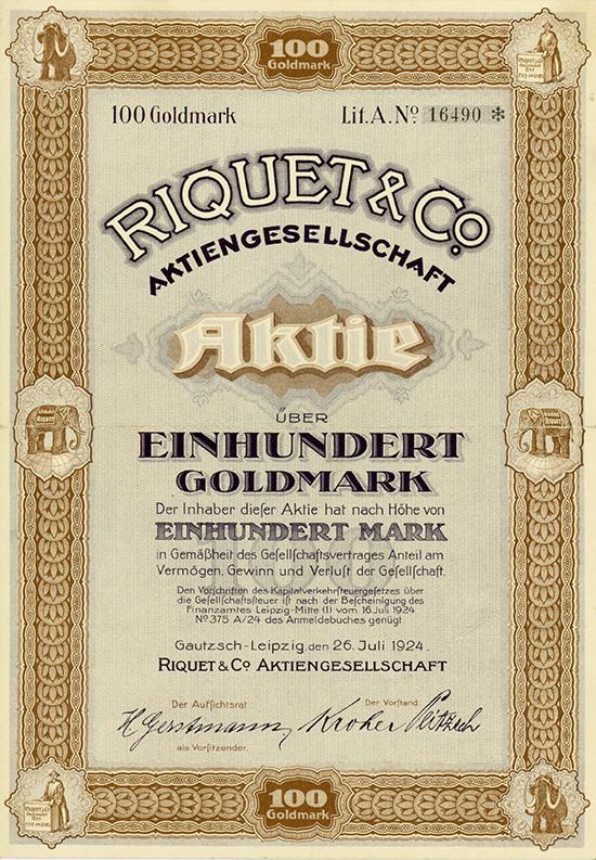 Riquet & Co. AG