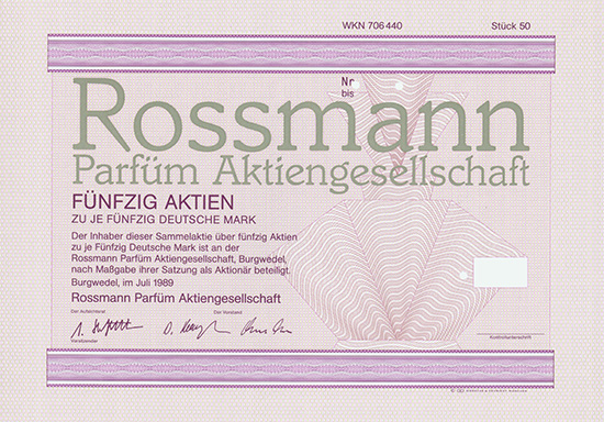 Rossmann Parfüm AG