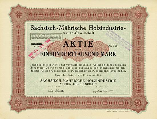 Sächsisch-Mährische Holzindustrie-AG