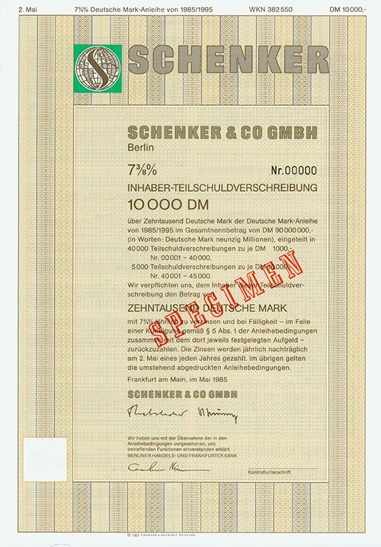 Schenker & Co GmbH