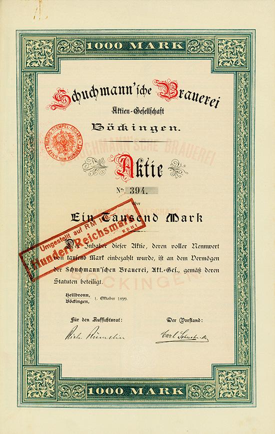 Schuchmann'sche Brauerei AG