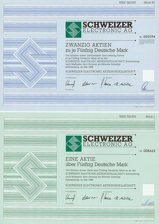 Schweizer Electronic AG [2 Stück]