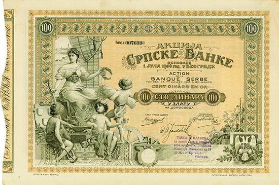 Serbische Bank