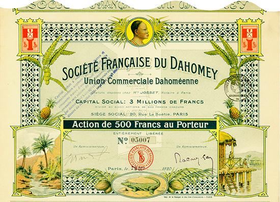 Societe Francaise du Dahomey