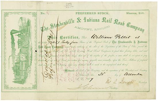 Steubenville & Indiana Rail Road Company