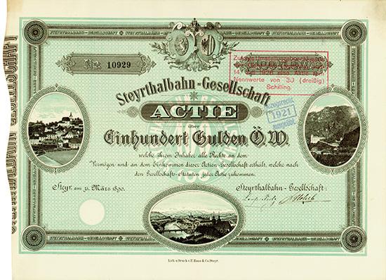 Steyrthalbahn-Gesellschaft