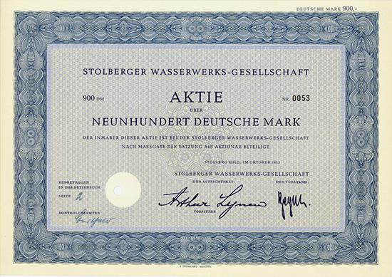 Stolberger Wasserwerks-Gesellschaft