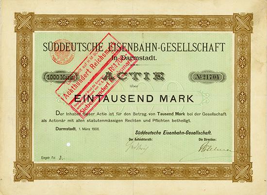Süddeutsche Eisenbahn-Gesellschaft