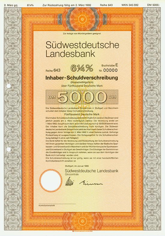 Südwestdeutsche Landesbank