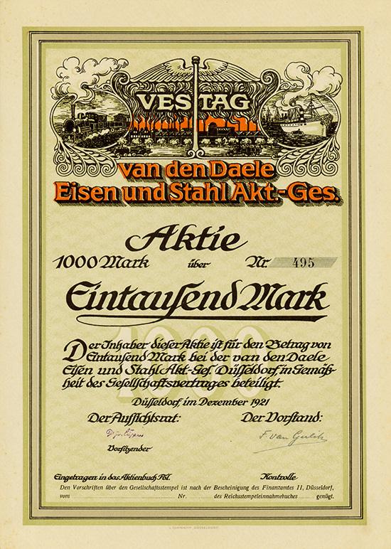 VESTAG van den Daele Eisen und Stahl AG