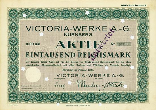 Victoria-Werke AG