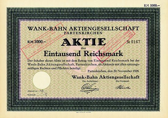Wank-Bahn AG