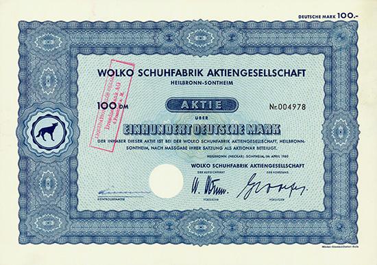 Wolko Schuhfabrik AG