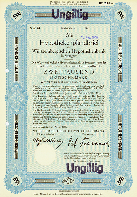 Württembergische Hypothekenbank AG