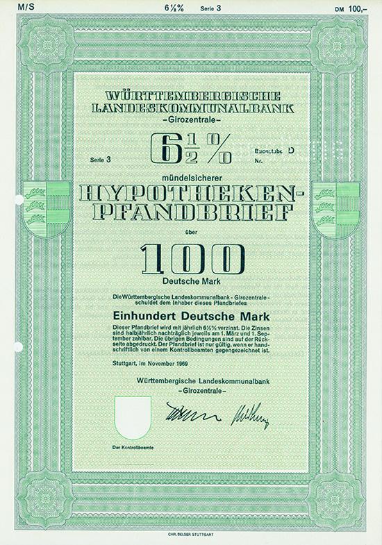 Württembergische Landeskommunalbank - Girozentrale