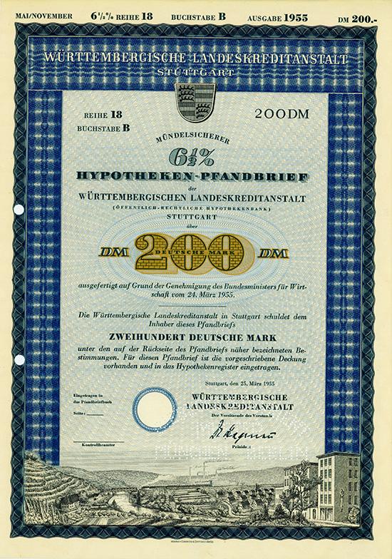 Württembergische Landeskreditanstalt (Öffentlich-Rechtliche Hypothekenbank)