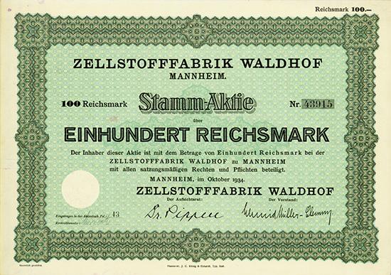 Zellstofffabrik Waldhof