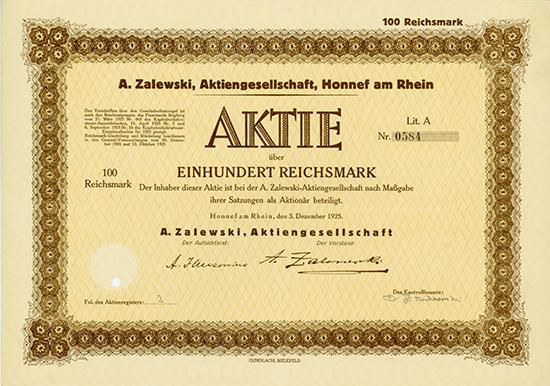A. Zalewski, AG