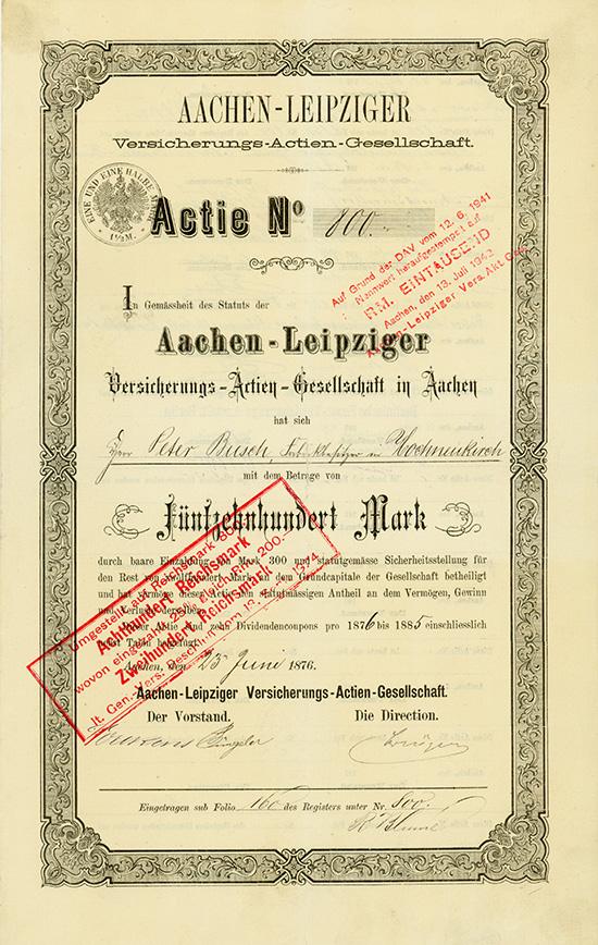 Aachen-Leipziger Versicherungs-AG