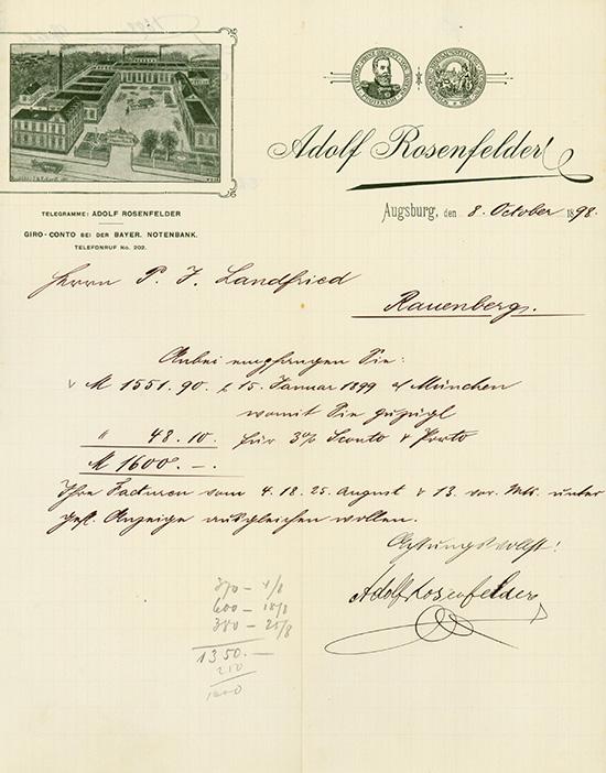 Adolf Rosenfelder (Liqueur Fabrik)
