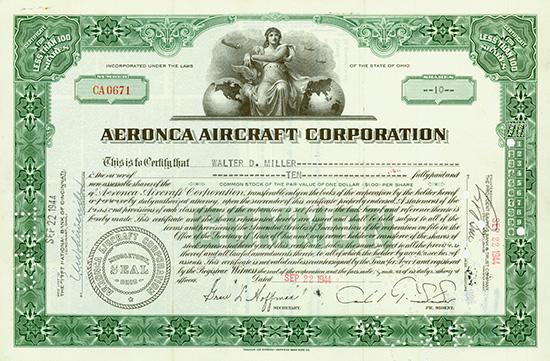 Aeronca Aircraft Corporation