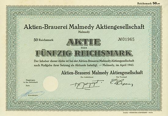 Aktien-Brauerei Malmedy AG
