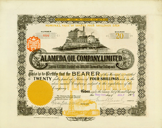 Alameda Oil Company, Limited