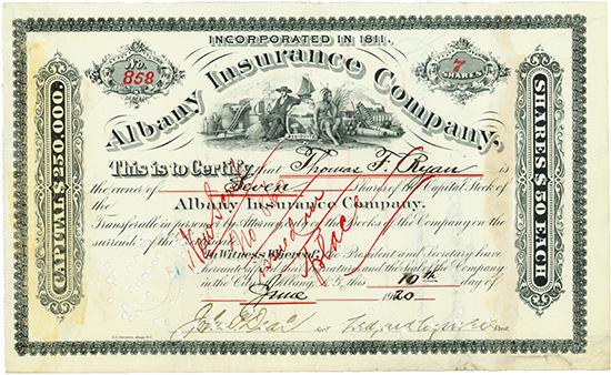 Albany Insurance Company