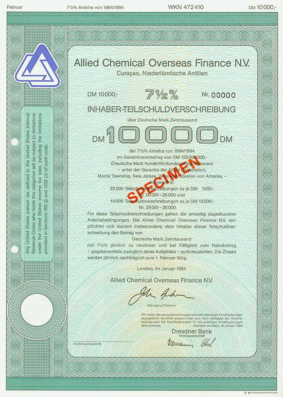 Allied Chemical Overseas Finance N.V.