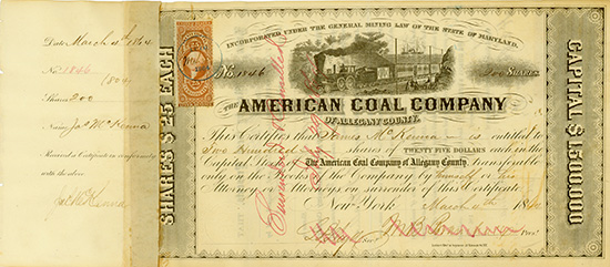 American Coal Company of Allegany County