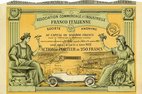 Association Commerciale et Industrielle Franco Italienne S.A.