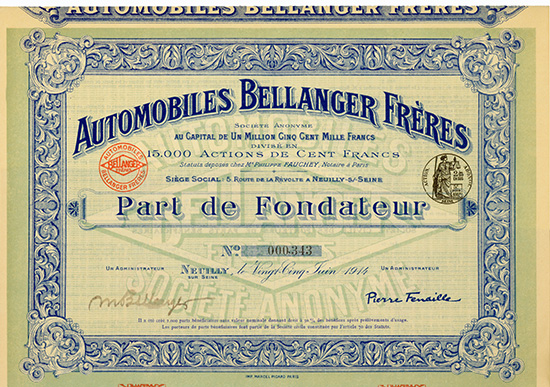 Automobiles Bellanger Freres S.A.