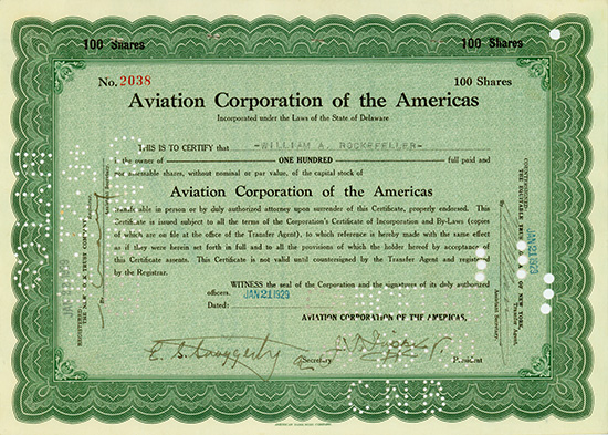 Aviation Corporation of the Americas