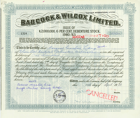 Babcock & Wilcox Limited