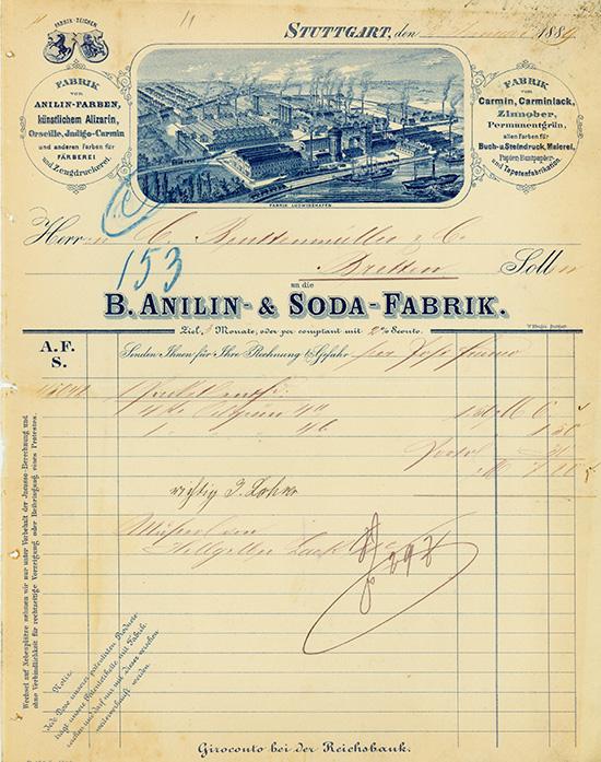 Badische Anilin- & Soda-Fabrik [3 Stück]