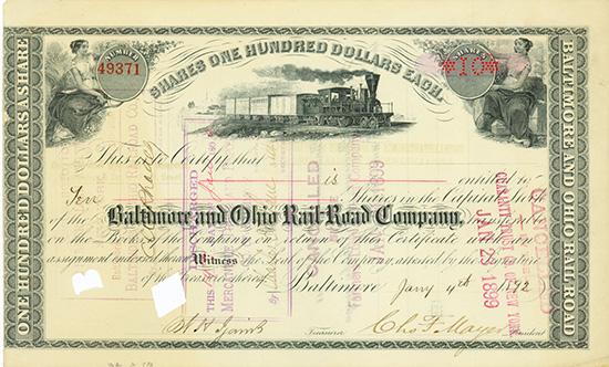 Baltimore and Ohio Rail-Road Company
