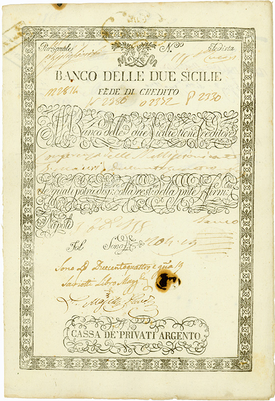 Banco Delle due Sicilie [2 Stück]