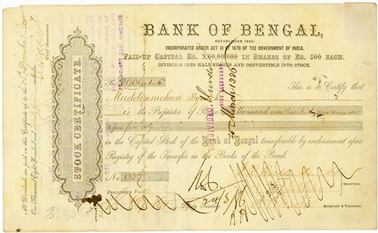 Bank of Bengal [2 Stück]