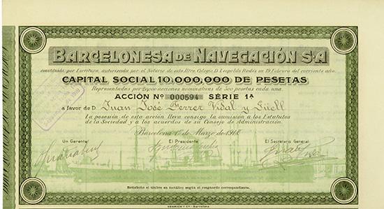 Barcelonesa de Navegacion S.A.