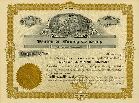 Benton G. Mining Company