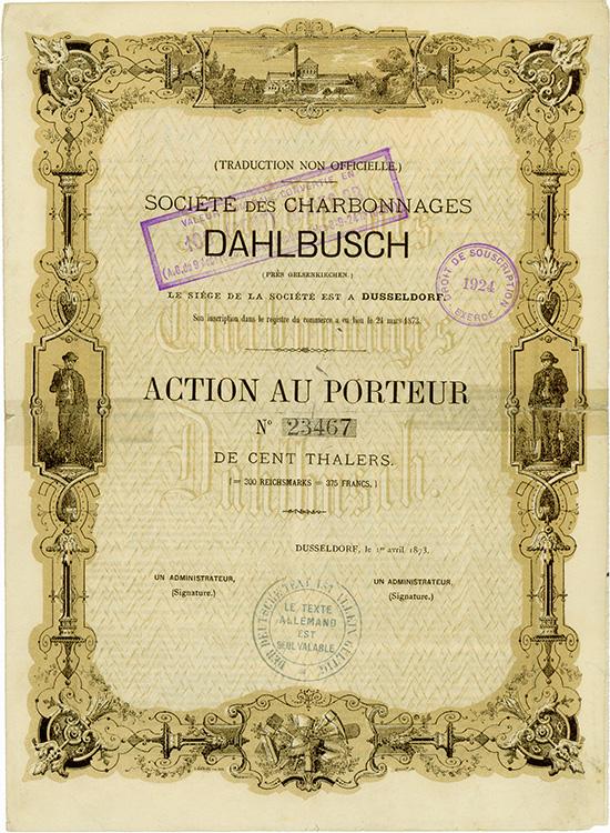 Bergwerks-Gesellschaft Dahlbusch