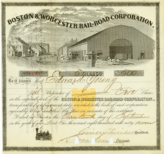 Boston & Worcester Rail-Road Corporation