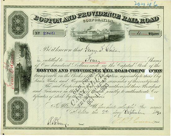Boston and Providence Rail Road Corporation