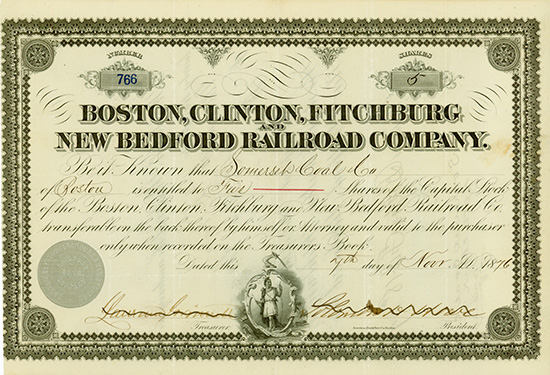 Boston, Clinton, Fitchburg and New Bedford Railroad Company